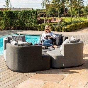 Maze Fabric Garden Furniture Snug