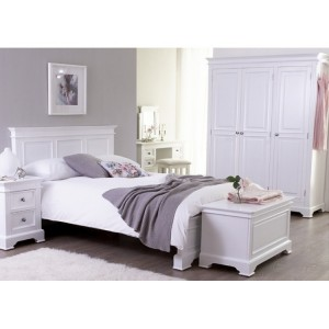 Windsor Elegance French Painted Furniture Double Bed Package