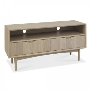 Bentley Designs Dansk Oak Furniture Entertainment Unit