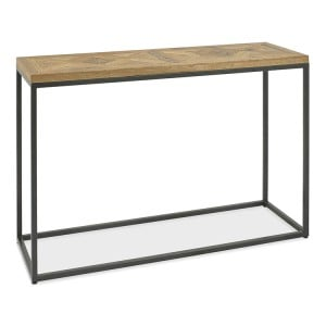 Bentley Designs Indus Oak Furniture Console Table
