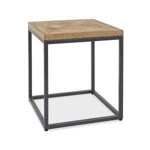Bentley Designs Indus Oak Furniture Lamp Table