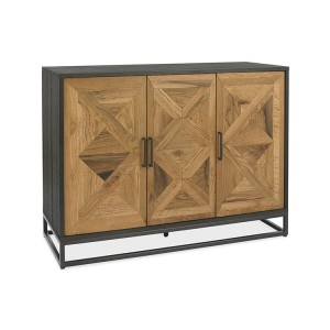 Bentley Designs Indus Oak Furniture Narrow Sideboard