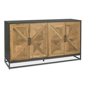 Bentley Designs Indus Oak Furniture Wide Sideboard