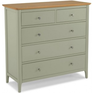 Berlin Painted & Oak Furniture 2 Over 3 Chest