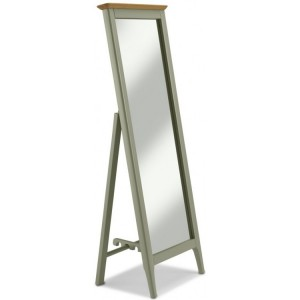 Berlin Painted & Oak Furniture Cheval Mirror
