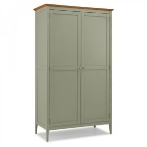 Berlin Painted & Oak Furniture Full Hanging Wardrobe