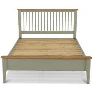 Berlin Painted & Oak Furniture Bed 4ft 6