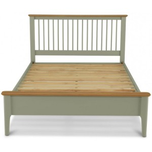 Berlin Painted & Oak Furniture King Bed 5ft