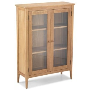 Kronborg Oak Furniture Glazed Cabinet