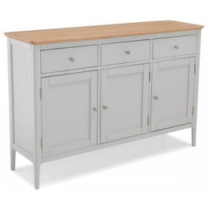 Lanark Painted Furniture Large Sideboard 3 Door 3 Drawer