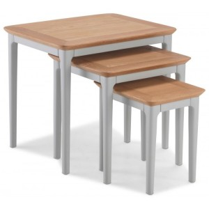 Lanark Painted Furniture Nest Of 3 Tables