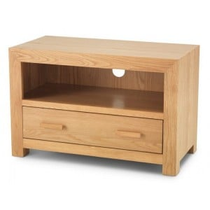 Lavaux Oak Furniture Range Small TV Unit