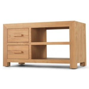 Lavaux Oak Furniture Range TV Video Cabinet