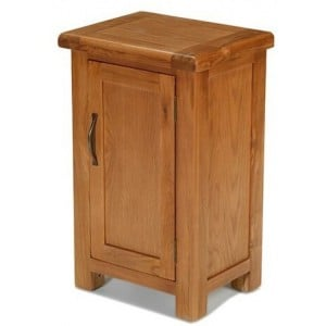 Saltaire Oak Furniture 1 Door Cabinet