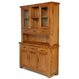 Saltaire Oak Furniture Large Dresser