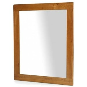 Saltaire Oak Furniture Large Wall Mirror
