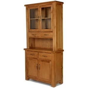 Saltaire Oak Furniture Small Dresser