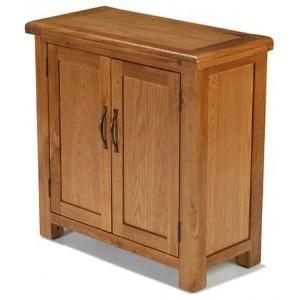Saltaire Oak Furniture Small Petite Cupboard