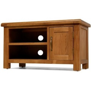 Saltaire Oak Furniture TV Cabinet