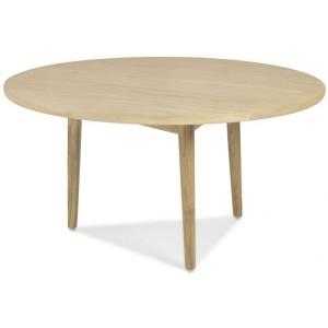 Stockholm Oak Furniture Circular Coffee Table