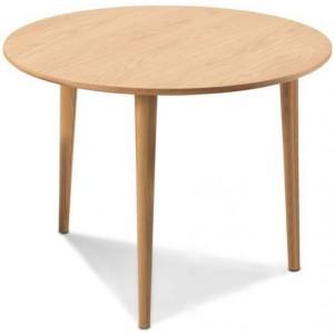 Stockholm Oak Furniture Circular Dining Table