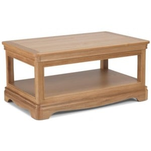 Vezelay Natural Oak Furniture Coffee Table