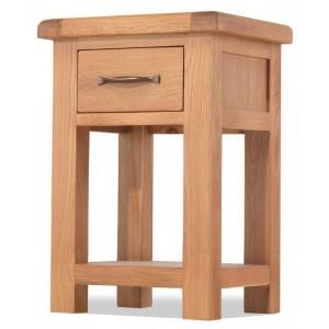 Westminster Oak Furniture 1 Drawer Bedside