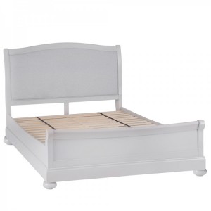 Brooklyn Essential Soft Grey & Oak Furniture 4ft6 Double Bed