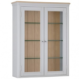 Brooklyn Essential Soft Grey & Oak Furniture Small Dresser Top