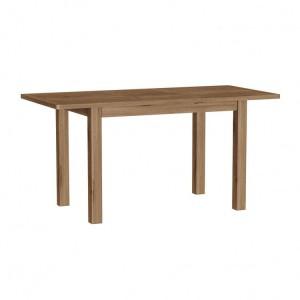 Buxton Rustic Oak Furniture 1.2m Extending Dining Table