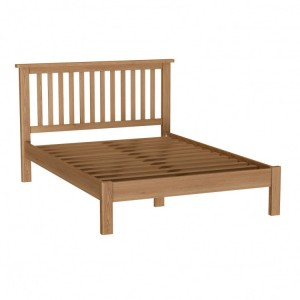 Buxton Rustic Oak Furniture Double 4ft6 Bed