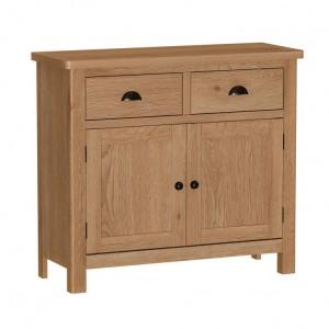 Buxton Rustic Oak Furniture Medium Sideboard
