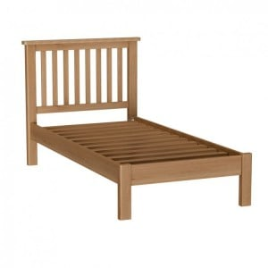 Buxton Rustic Oak Furniture Single 3ft Bed