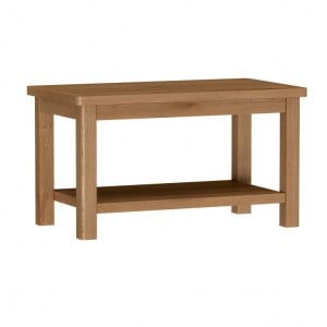 Buxton Rustic Oak Furniture Small Coffee Table