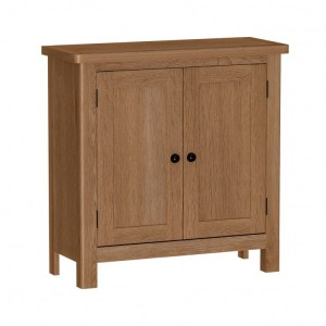 Buxton Rustic Oak Furniture Small Sideboard