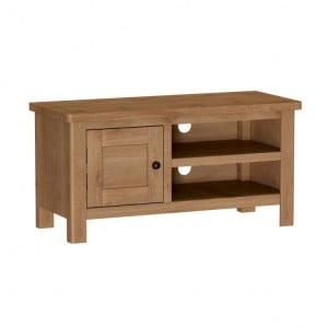 Buxton Rustic Oak Furniture Small TV Unit