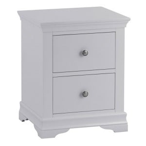 Maison Grey Painted Furniture Large Bedside Cabinet