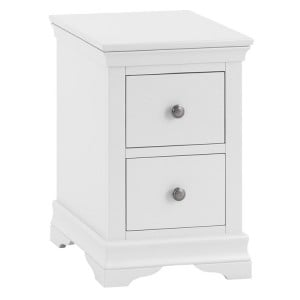 Maison White Painted Furniture Bedside Cabinet