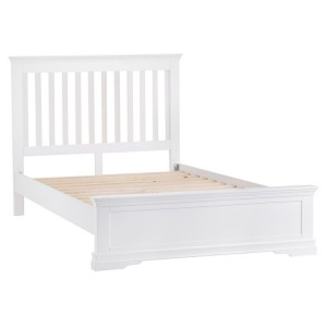 Maison White Painted Furniture Kingsize 5ft Bedstead