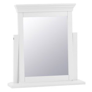 Maison White Painted Furniture Trinket Mirror