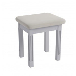 Newbury Grey Painted Furniture Dressing Table Stool