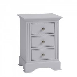 Newbury Grey Painted Furniture Large Bedside Cabinet