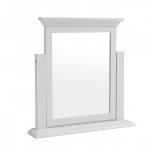 Newbury White Painted Furniture Dressing Table Mirror