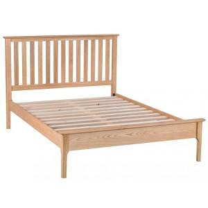 Bergen Oak Furniture 5ft Slatted Bed