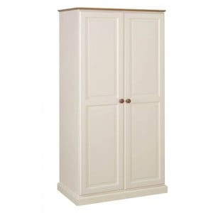 Devonshire Torridge Painted Pine Furniture Ladies Double Wardrobe