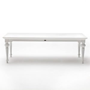 Provence White Painted Furniture 240cm Dining Table
