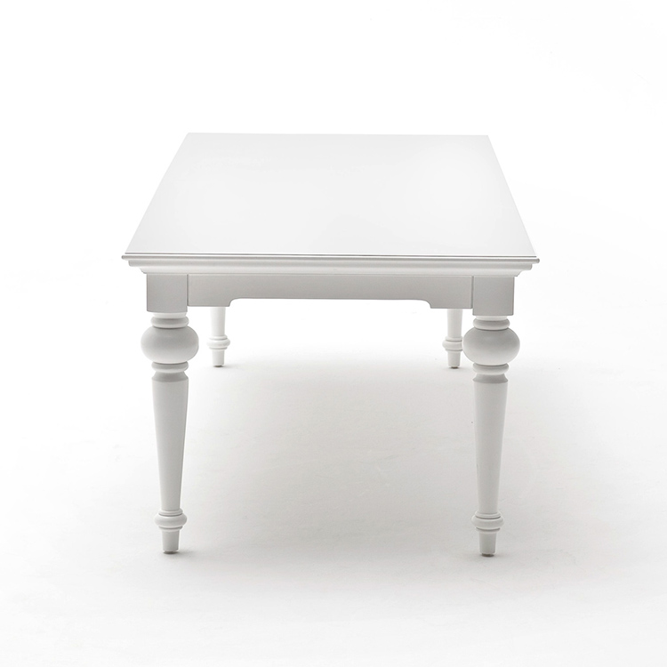 Provence White Painted Furniture 240cm Dining Table ...