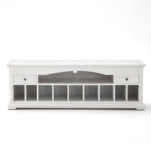 Provence White Painted Furniture Media Console