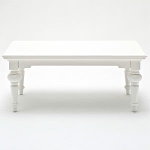 Provence White Painted Furniture Rectangular Coffee Table