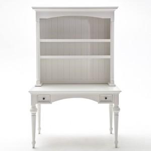 Provence White Painted Furniture Secretary Desk